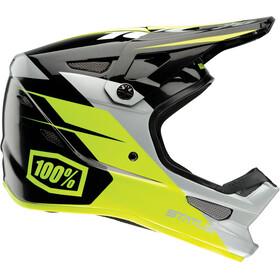 100% Status Helmet Falta Charcoal
